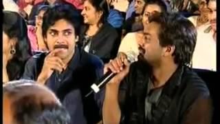 Pawan kalyan funny interview with  purijagannadh Garu width=