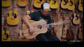 Cole Clark FL2E-12 Blackwood/Blackwood 12 String Acoustic Guitar. The Acoustic Centre.