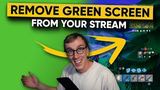 How to use a green screen in obs studios withe web cam