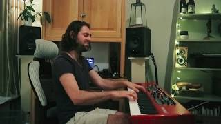 FKJ - Drops feat. Tom Bailey | George Holliday Instagram Keyboard Cover Jam