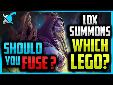 10X SUMMONS... Her AGAIN... LEGENDARY Also? | Should You Fuse Gurptuk? | RAID: Shadow Legends