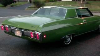 1970 Chevy Impala Burnout
