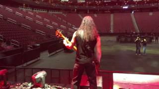 "Disturbed - ""Ten Thousand Fists"" soundcheck"