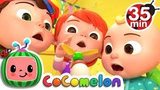 Humpty Dumpty | +More Nursery Rhymes & Kids Songs - Cocomelon (ABCkidTV) width=