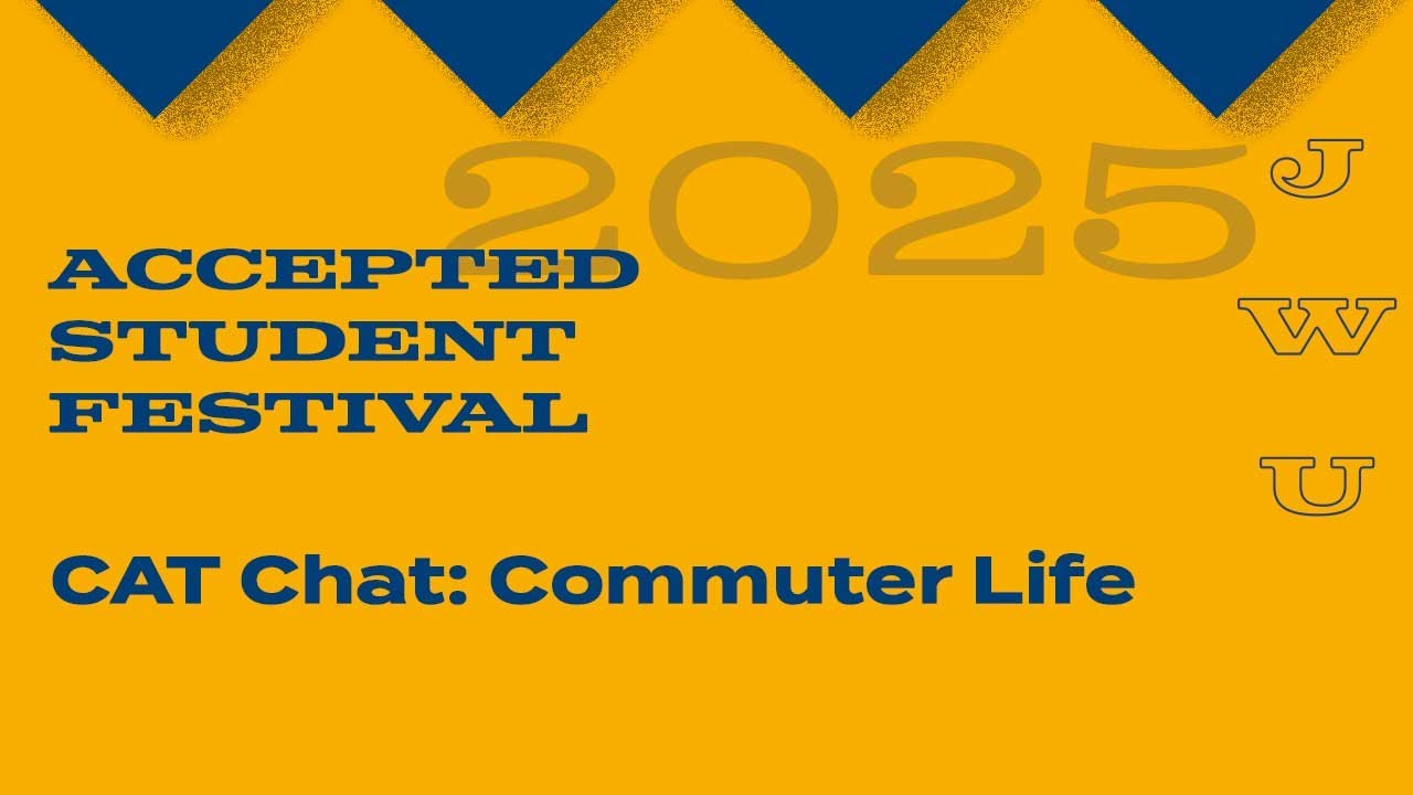 JWU Accepted Students Festival CAT Chat - Commuter Life thumbnail