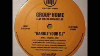 Group Home - Handle Your B. I. (instrumental)