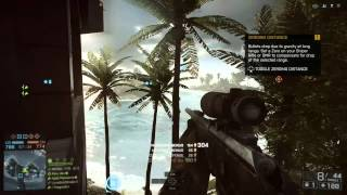 Battlefield 4 xbox one sniper gameplay clip recorded via upload studio
