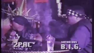2Pac & Biggie freestyle