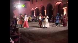 «Baile Medieval» foi a novidade na Feira Afonsina 2012