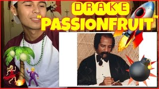 Drake - Passionfruit (Official Audio) | Reaction Therapy