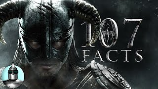 107 Skyrim Facts YOU Should KNOW!! | The Leaderboard