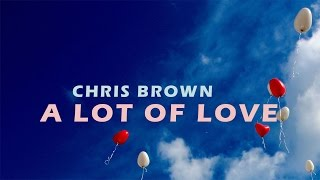 Chris Brown - A Lot Of Love (Lyrics)