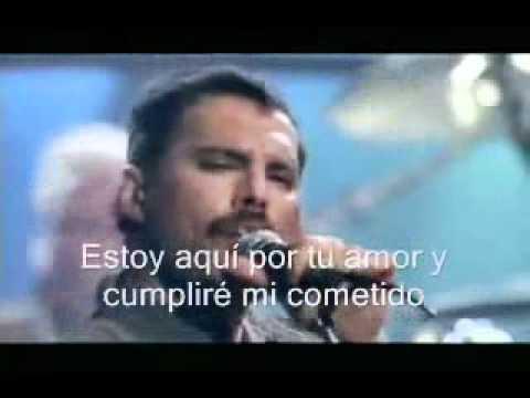 Princes Of The Universe En Espanol de Freddie Mercury Letra y Video