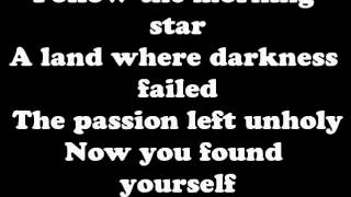 Black Veil Brides Fallen Angels Lyrics