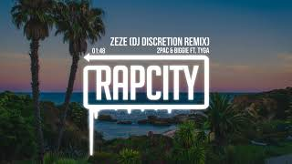 2Pac & Biggie - ZeZe ft. Tyga (DJ DISCRETION Remix)