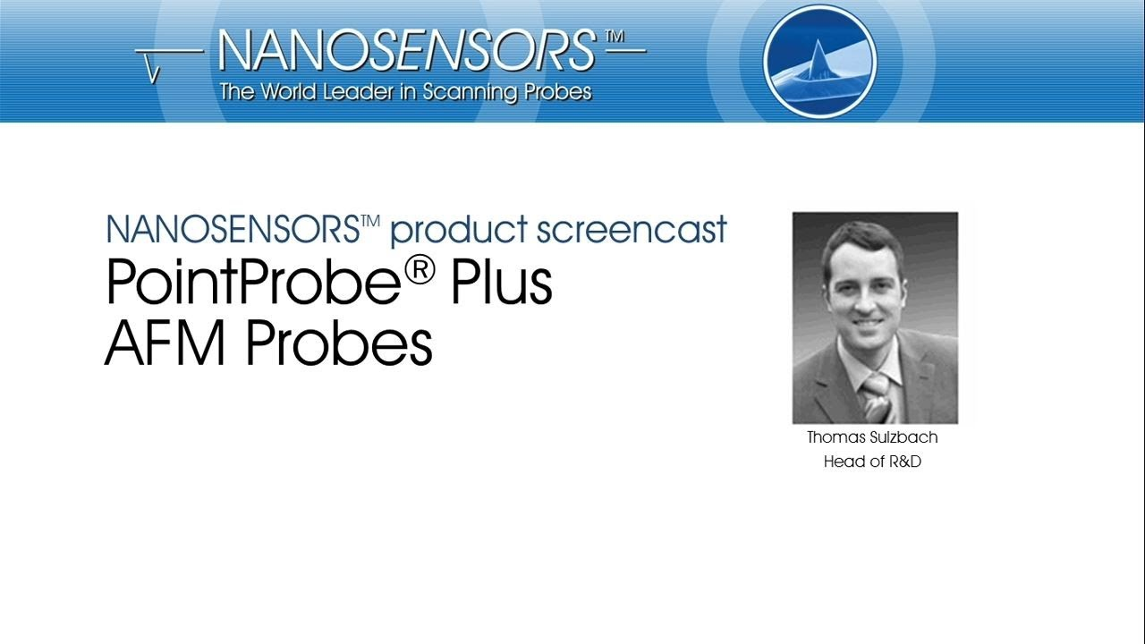 NANOSENSORS™ PointProbe® Plus AFM Probes thumb