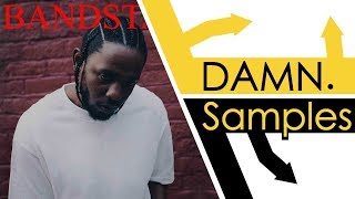 Every Sample From Kendrick Lamar's Damn.