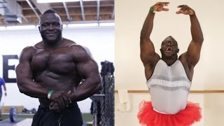 Bodybuilders Try Ballet For The First Time width=