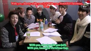 (Eng Subs) BTS: Jimin and Jung Kook - Christmas Day (Cover)