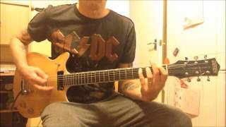 AC/DC  Rock The Blues Away Rhythm Cover with Gretsch