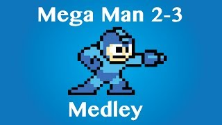 Mega Man 2-3 Medley - Piano Arrangement