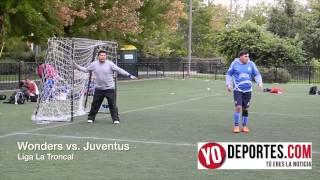 Wonders vs Juventus 9-1 en Liga La Troncal Chicago