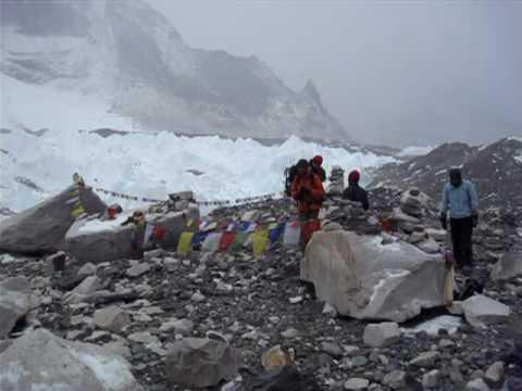 Mt Everest Base Camp – March 19, 2009