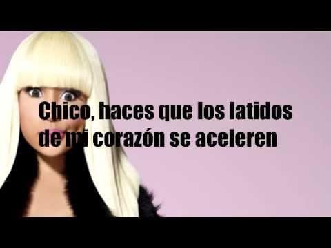 Super Bass En Espanol de Nicki Minaj Letra y Video