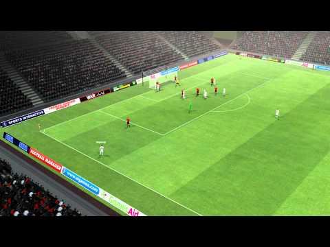 Leverkusen vs Frankfurt   Turgay Bahadir Goal 86 minutes