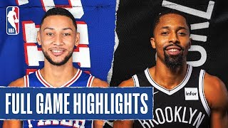 76ERS at NETS   FULL GAME HIGHLIGHTS   January 20, 2020
