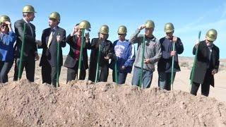 Work officially begins on new Albuquerque baseball complex