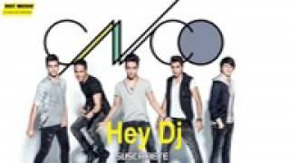 ( Hey dj ) CNCO ft. Yandel karaoke remix con letra