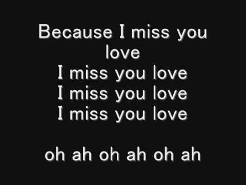 i miss you lyrics