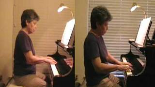 Heart and Soul piano duet with self