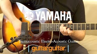 Yamaha | Transacoustic Guitar | Built in Reverb & Chorus