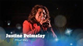 "Justine Pelmelay - PM Istimewa - Ahoy, Rotterdam 28maart2016 - ""Proud Mary"""