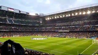Real Madrid - Vfl Wolfburg - Hala Madrid Y Nada Mas, el himno de la Décima (12.04.16)