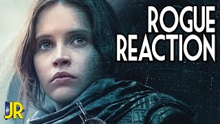 Rogue One Trailer Two | #RogueReactions |Star Wars |