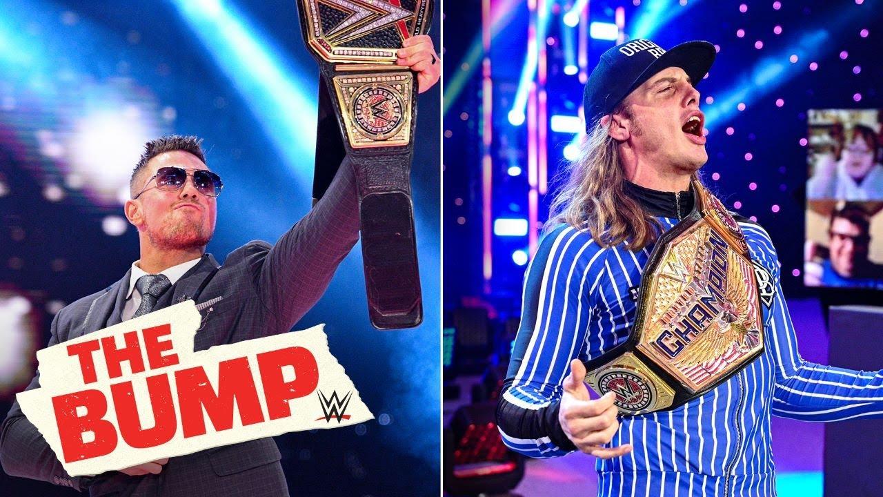WWE - Riddle reacts to Miz's WWE Title win: WWE's The Bump, Feb. 24, 2021