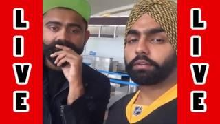 Amrit Maan Live with Ammy Virk -- kaali camaro