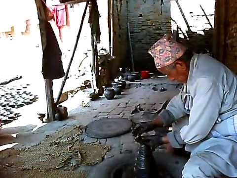Pottery in Bakthapur, Nepal
