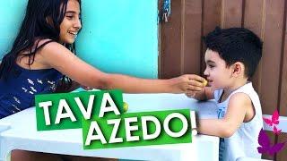 DESAFIO DO LIMÃO! Ft. João Pedro