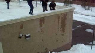 triple salto en el carwash