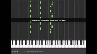 Headhunterz vs. Wildstylez - Blame it on the Music Piano Tutorial