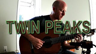 Twin Peaks Theme: for classical guitar + TAB