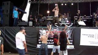 O punk nao morreu  - La Tormenta - Live In Anapolis Metal 2012