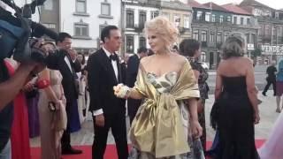 Baile da Rosa 2016 - Daniel Martins e Lili Caneças chegam à Red Carpet