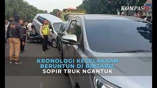 Kronologi Kecelakaan Beruntun 5 Mobil di Bintaro
