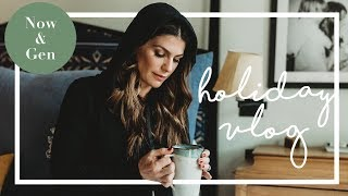 MY HOLIDAY VLOG | GENEVIEVE PADALECKI