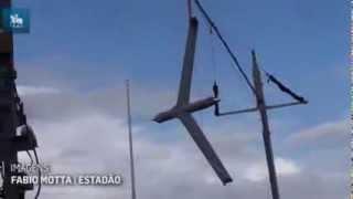 Marinha testa drone para patrulhar a Amazônia Azul